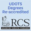 UDOTS degrees re-accredited by RCS England