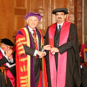 Professor Rami Abboud elected Honorary Fellow (FRCS) of the Royal College of Surgeons of England