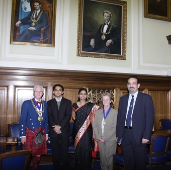 Civic Reception by Dundee's Lord Provost