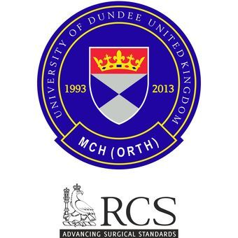 MCh Orth Dundee accredited by the Royal College of Surgeons of England