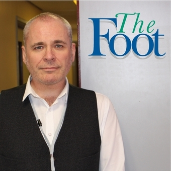 Staff member redesigns The Foot Journal cover