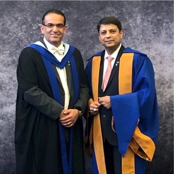 Honorary Doctorate Degree for Dr Parag Sancheti
